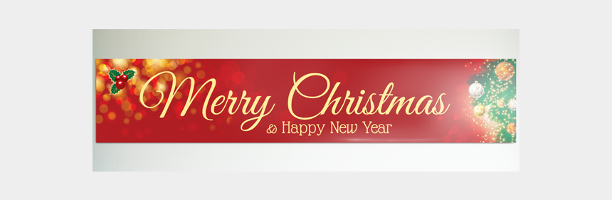 merry christmas and happy new year clipart free, Cartoons - New Year Banner Png - Happy New Year Banner Hd