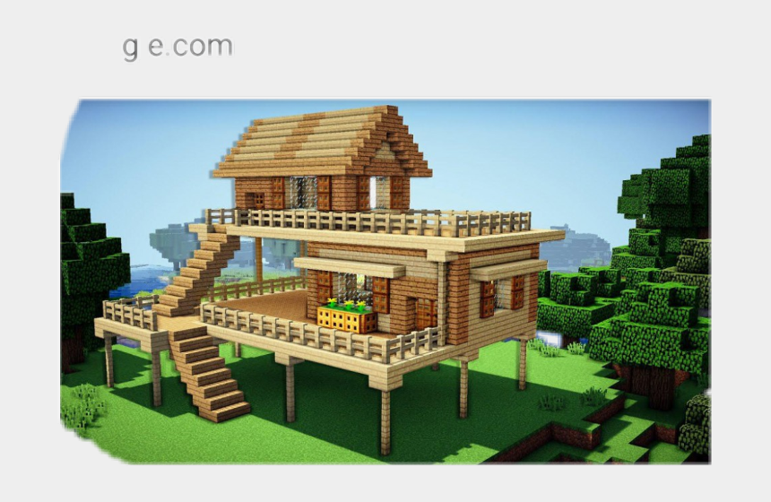 Minecraft Houses On Stilts Cliparts Cartoons Jing Fm