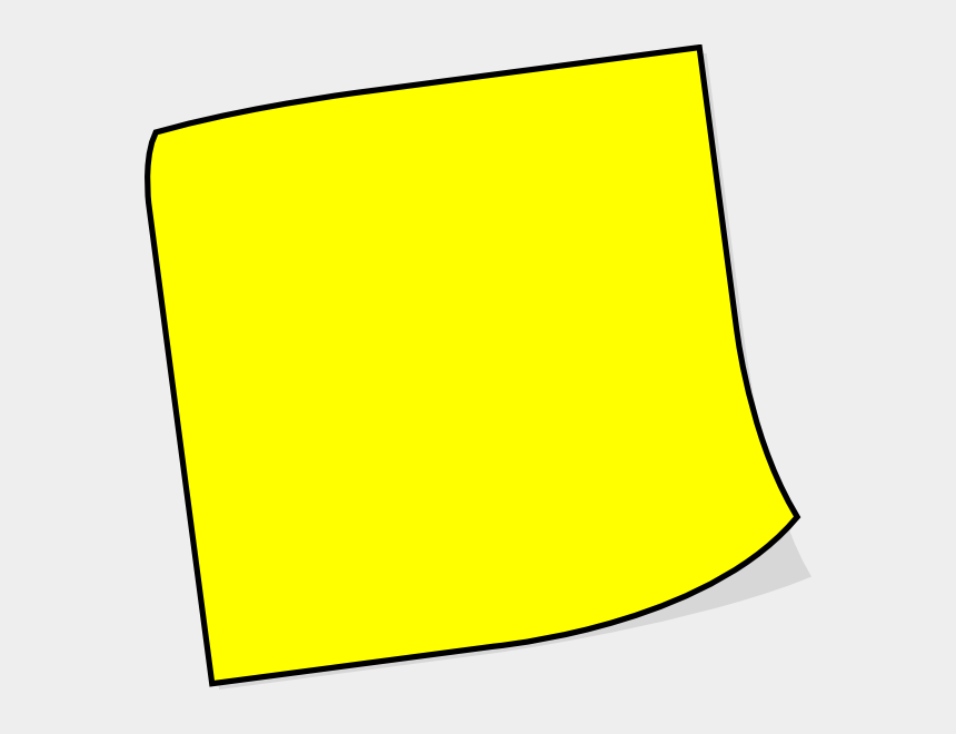 yellow notepad clipart, Cartoons - Timesheet Reminder
