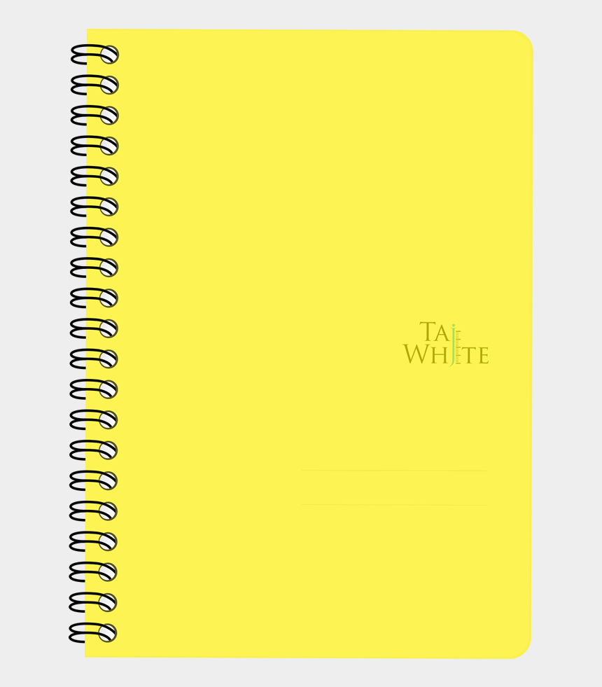 yellow notepad clipart, Cartoons - Buy Online Wire O Notebook B6 Tw 1 Subject/ Single - Orange