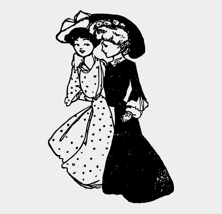 two women talking clipart, Cartoons - Painting Black And White Computer Icons Visual Arts - Two Ladies Clipart Black And White