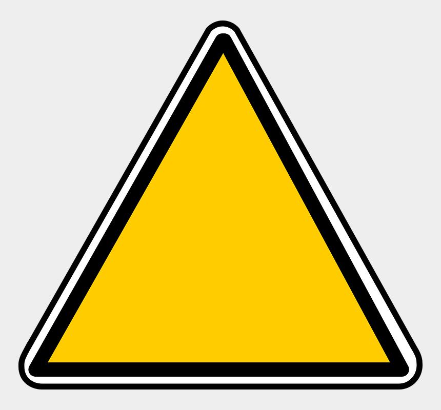 warning triangle clipart, Cartoons - Triangle Clipart