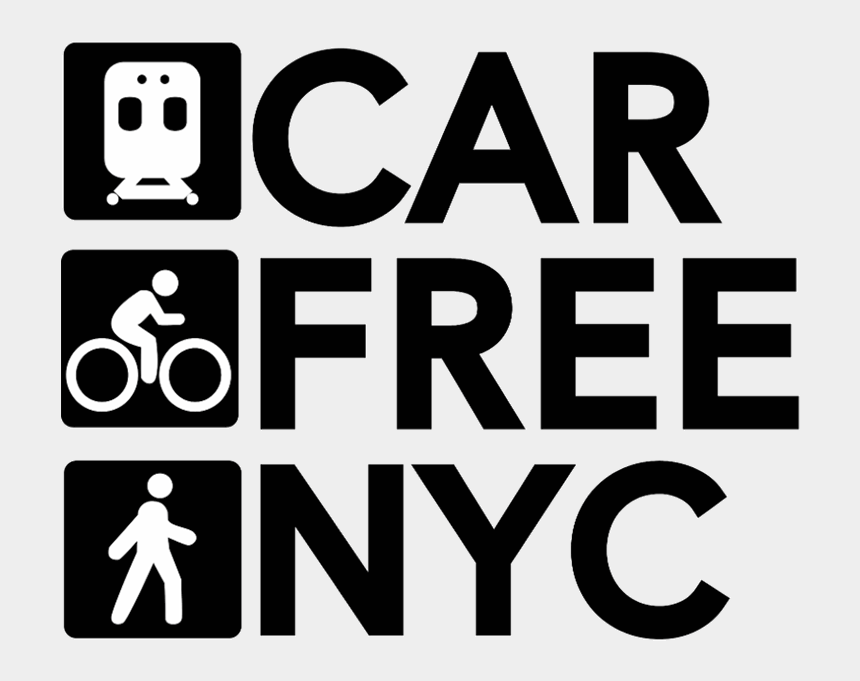 free earth day clipart, Cartoons - Car Free Day Nyc