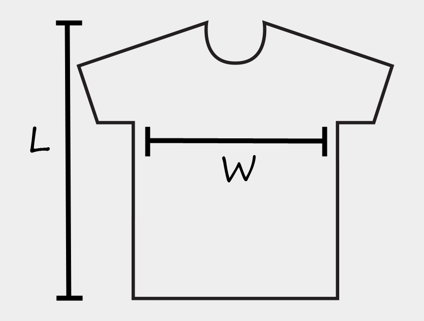 t-shirt outline clipart, Cartoons - Adult Female T-shirt Size Chart & Template - T Shirt Sizing Chart Template
