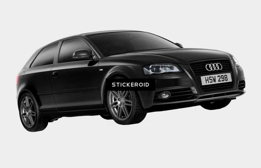 front view of car clipart, Cartoons - 11 Audi Car Png Front View - Audi A3 Black Edition