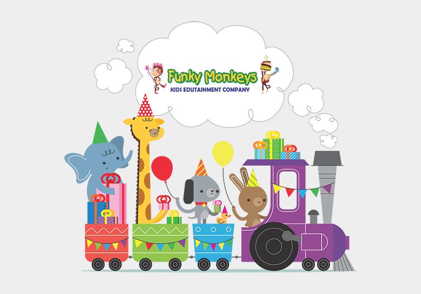 school cook clipart, Cartoons - Funky Monkeys Birthdays School - Happy Birthday Wishes With Zoo Animals
