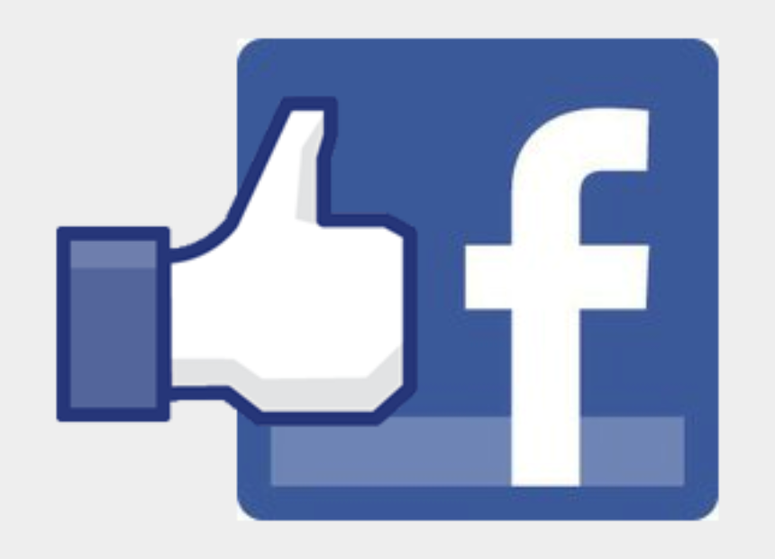 like us on facebook clipart, Cartoons - Like Us On Facebook - Small Size Logo Facebook