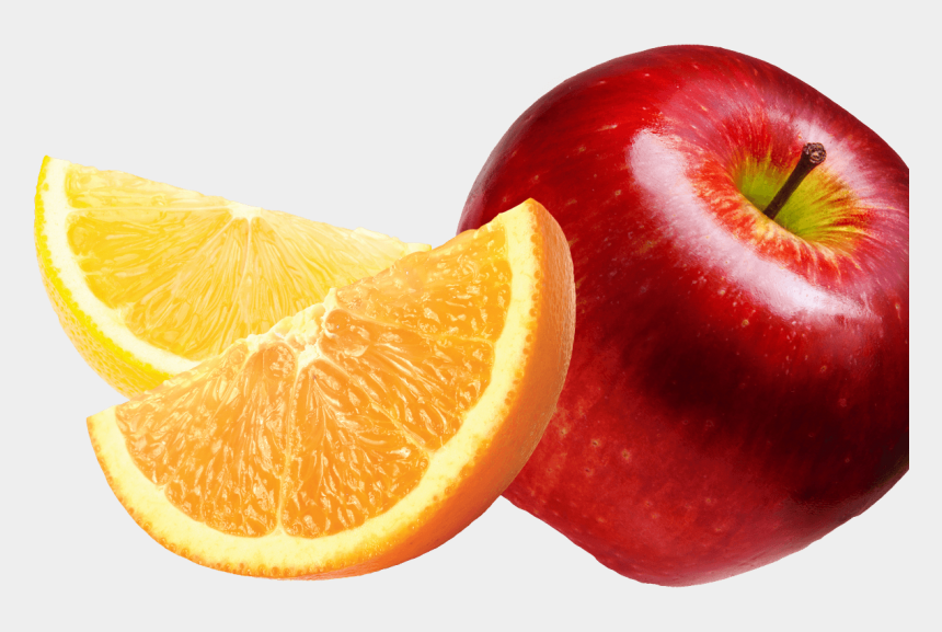 clementine clipart, Cartoons - Apple And Orange Fruit