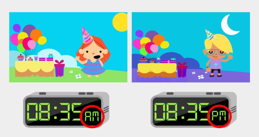 digital clocks clipart, Cartoons - 24 Digital Clock - Cartoon