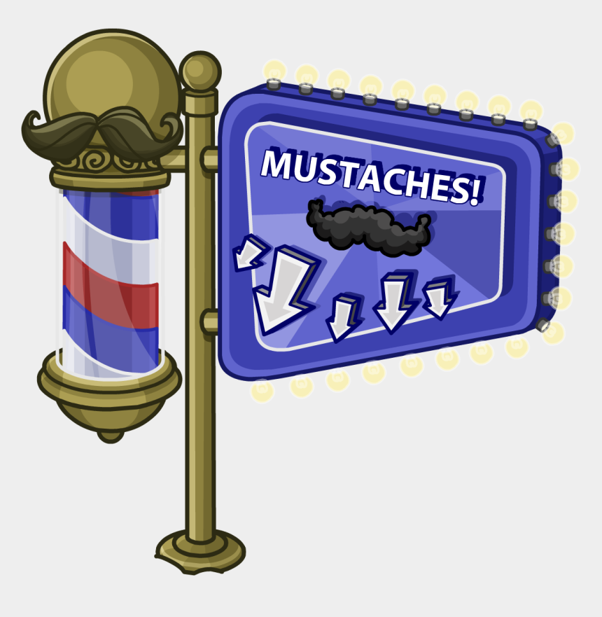 curly mustache clipart, Cartoons - Mustache Madness