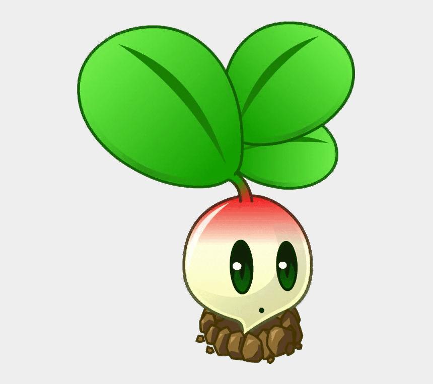 radishes clipart, Cartoons - Crops Clipart Radish Plant - Pvz 2 All Stars All Plants