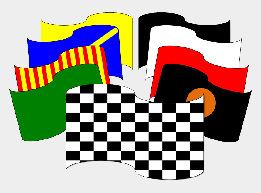 finish line flags clipart, Cartoons - Finish Line Flags Clipart