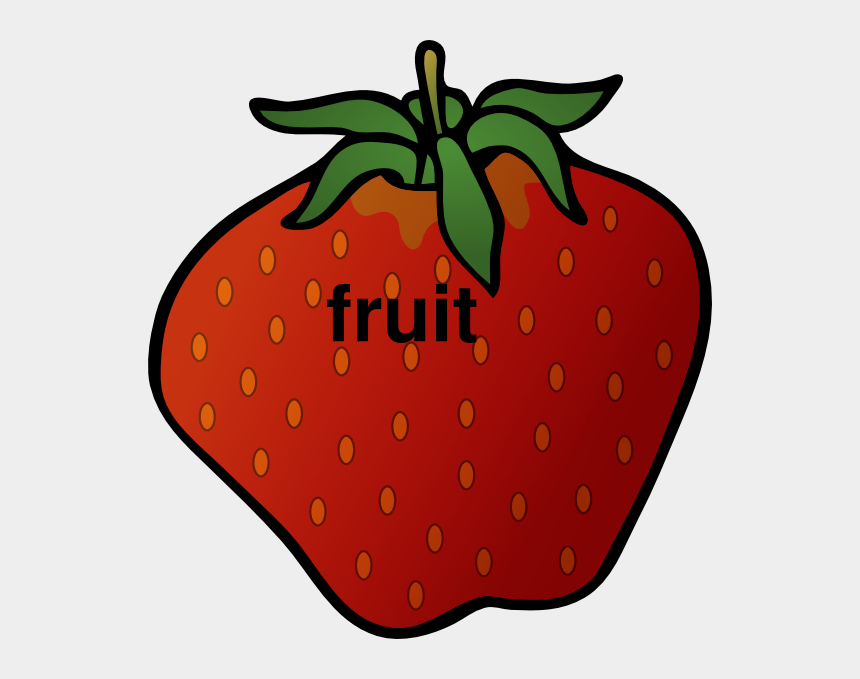fruits cliparts images, Cartoons - Cartoon Strawberry
