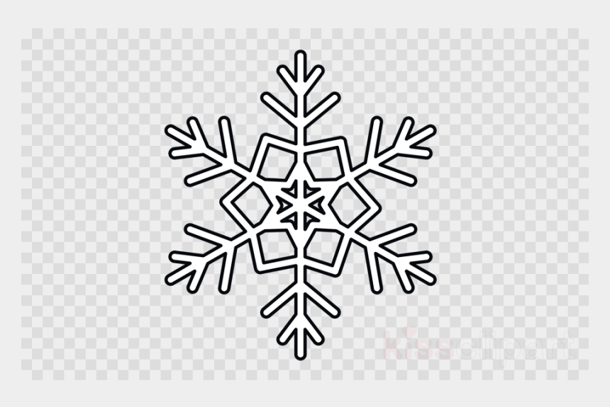 Snowflake Clip Art at Clker.com - vector clip art online, royalty free &  public domain