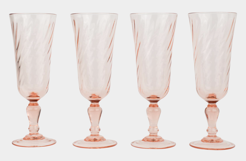 toasting glasses clipart, Cartoons - Pink Champagne Glasses Png - Wine Glass