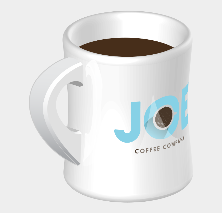coffee & donuts clipart, Cartoons - Diner Mug With A Joe Coffee Company Logo - Coffee Cup