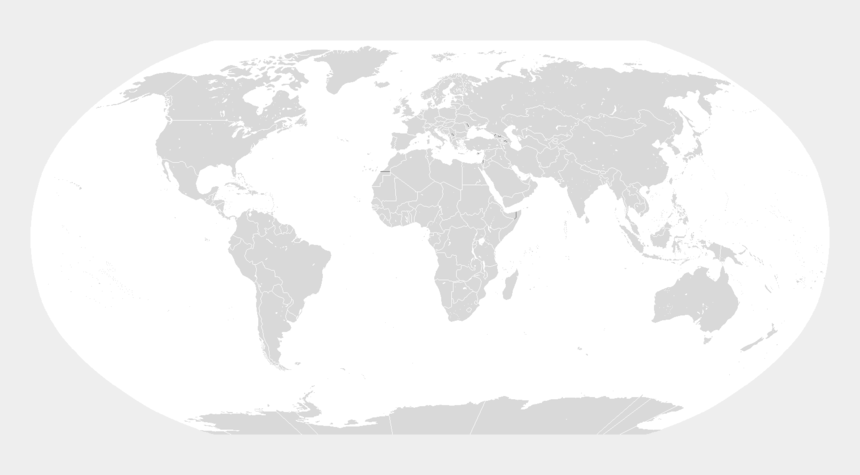 map of the world clipart, Cartoons - Blank Map Of The World Png - Blank World Map For Paint