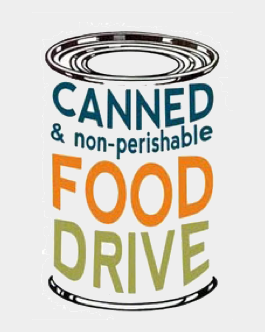 can food drive clipart, Cartoons - Food, Text, Yellow, Transparent Png Image & Clipart - Canned And Non Perishable Food Drive