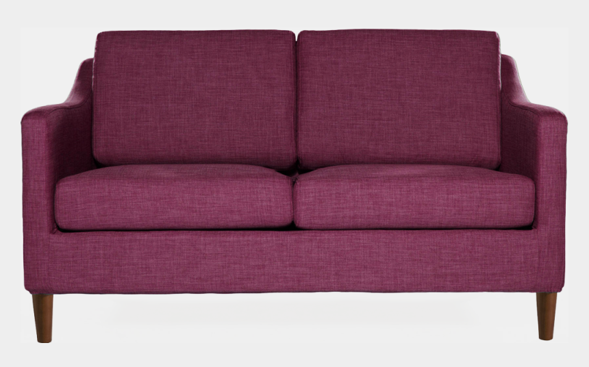 sofa clipart, Cartoons - Purple Couch Png - Studio Couch