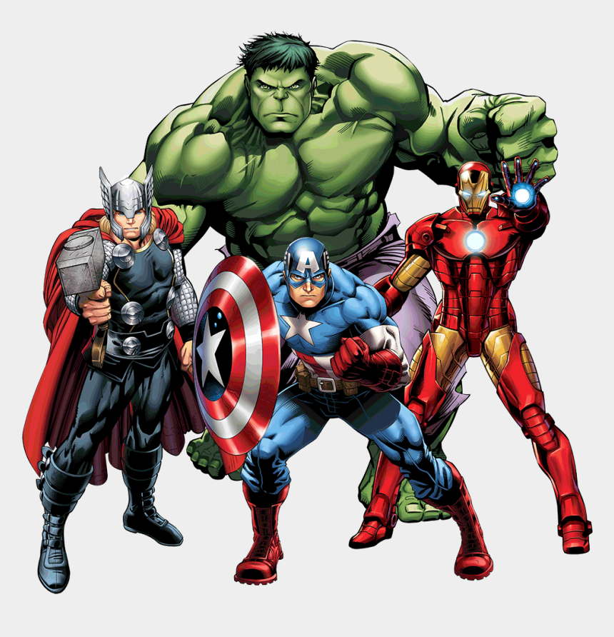 vector clipart, Cartoons - Avengers Png Clipart - Marvel Avengers Thor