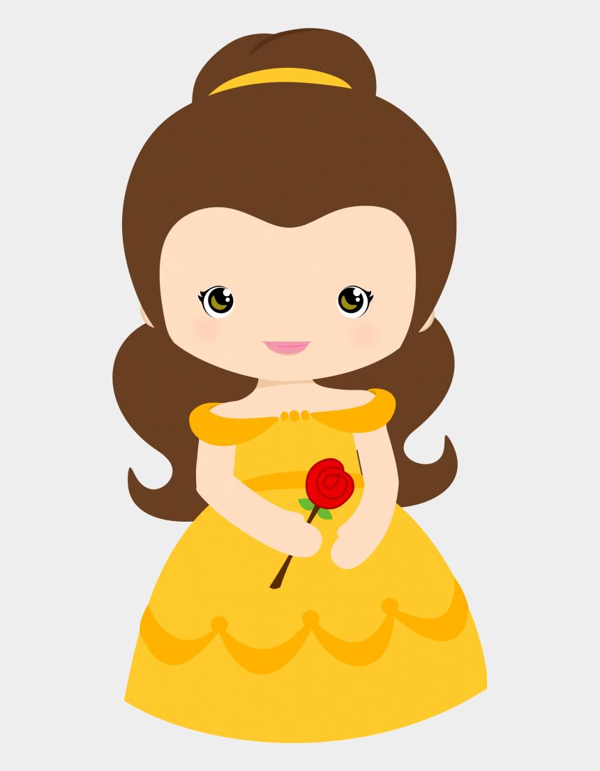 beauty and the beast clipart, Cartoons - Pin By Davina Taylor On Lilliana Marie Ⓒ - Princesas Disney Baby