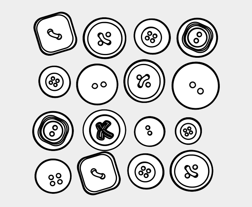 pete the cat clipart, Cartoons - Buttons Drawing At Getdrawings - Buttons Clipart Black And White