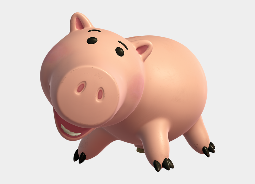 toy story clipart, Cartoons - Toy Story Pig Png - Hamm Toy Story Characters