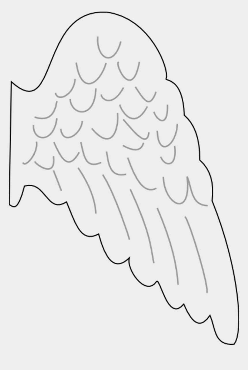 photograph regarding Printable Wings named X - Angel Wing Template Printable Totally free, Cliparts Cartoons