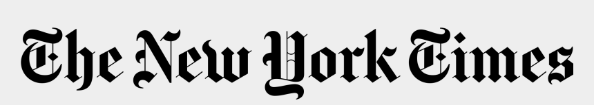 new york clipart, Cartoons - New York Times Logo Transparent Png - New York Times Png