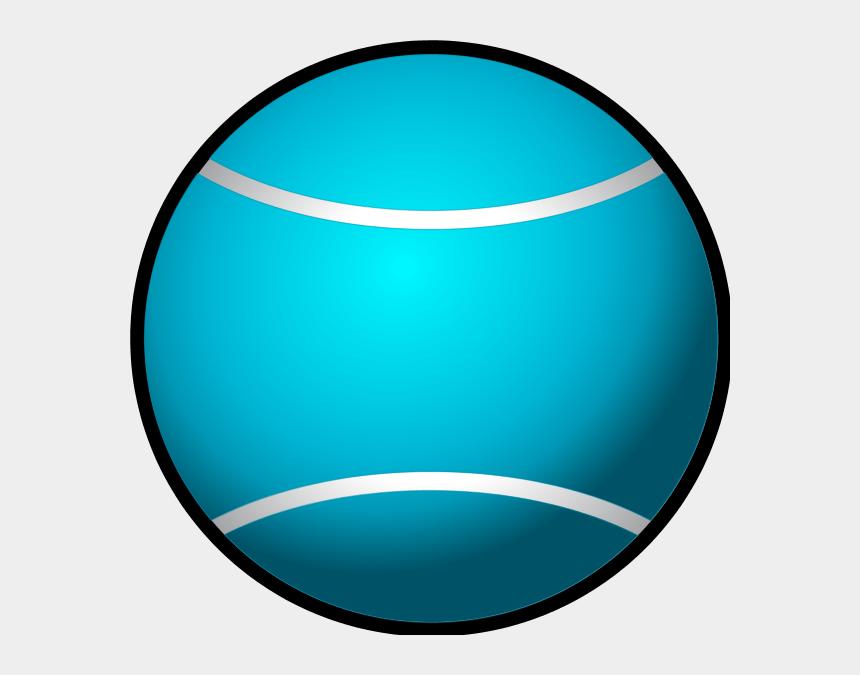 tennis ball clipart, Cartoons - Tennis Ball Simple Vector Clip Art - Blue Ball Clip Art