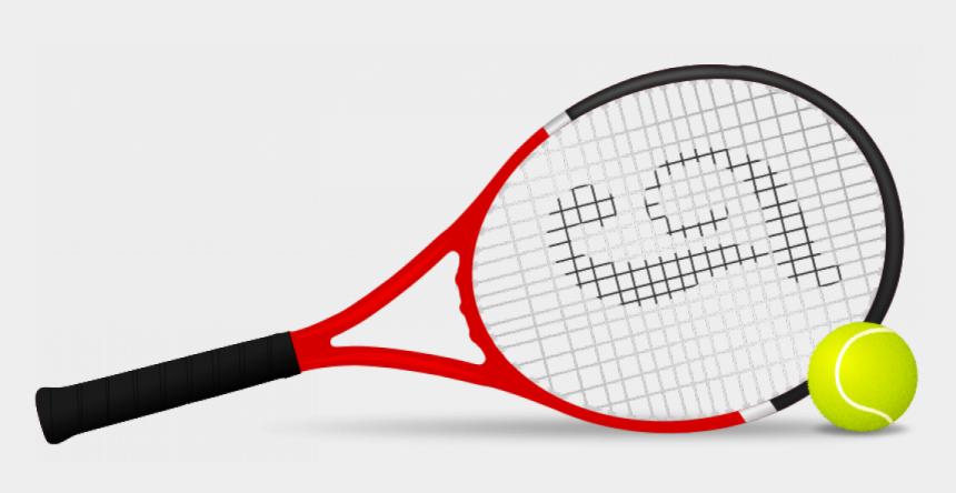 tennis ball clipart, Cartoons - Tennis Racket And Ball Vector Clip Art - Tennis Racket