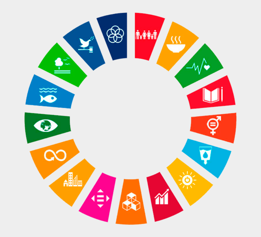 goals clipart, Cartoons - Clean Water And Sanitation - Sustainable Development Goals Wheel