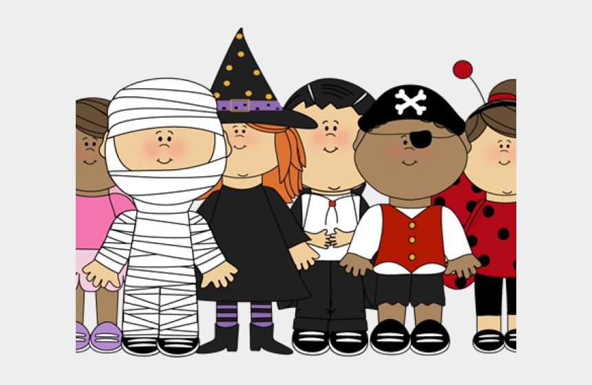 parade clipart, Cartoons - Halloween Clipart Parade - Halloween Kids