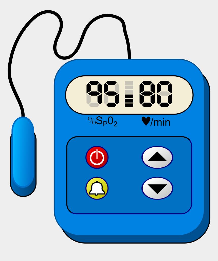 heartbeat clipart, Cartoons - Pulse Oximeter Clip Art - Heart Rate Monitor Clipart