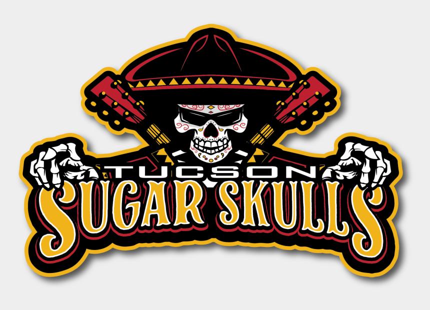 sugar clipart, Cartoons - Sugar Skull Png - Tucson Sugar Skulls Football