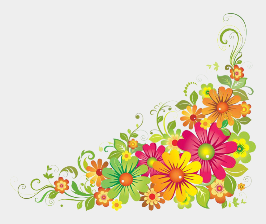 frames clipart, Cartoons - Flower Borders And Frames Clipart - Flower Border Clipart