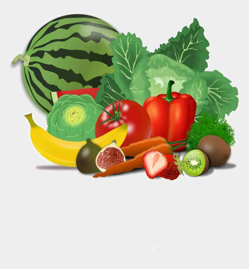 vegetable clipart, Cartoons - Fresh Healthy Food Transparent Png - Fruit And Veggies Clipart