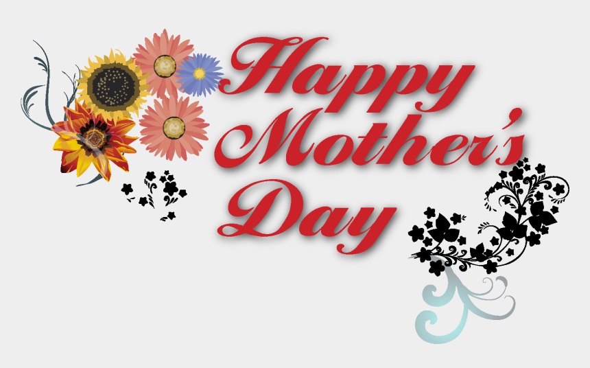 mother's day clipart, Cartoons - Holidays - Happy Mothers Day Transparent Background