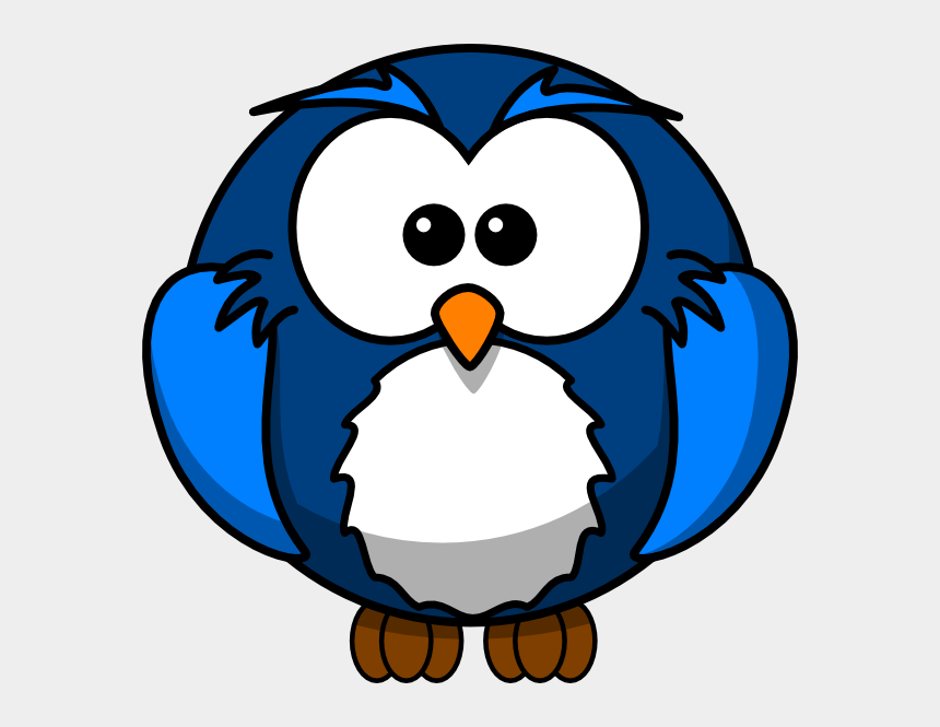 owls clipart, Cartoons - Blue Owl Clip Art - Cartoon Owl Icons