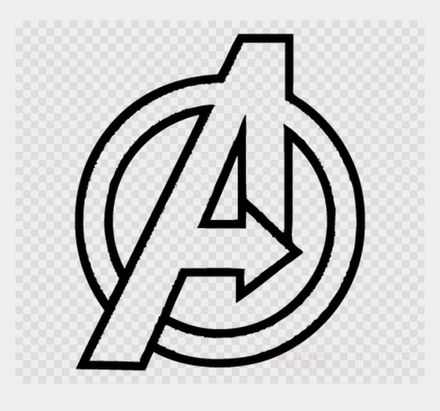war clipart, Cartoons - Download Avengers Infinity War Logo Drawing Clipart - Avengers Endgame Coloring Pages
