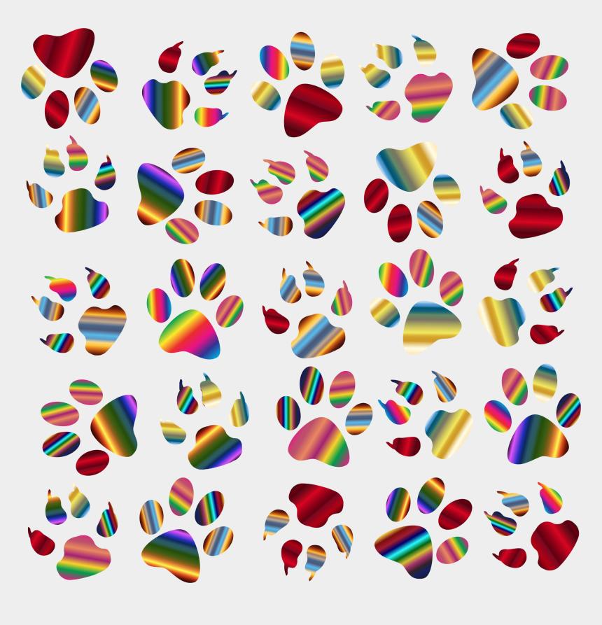 paw print clipart, Cartoons - Paw Clip Art Clear Background - Transparent Cat Paw Print Clip Art