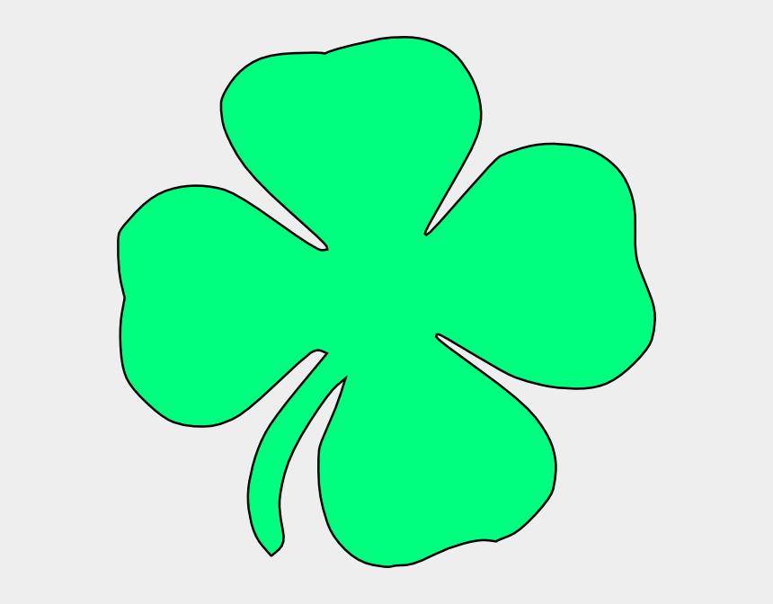 four leaf clover clipart, Cartoons - Clover Clipart Large - Cross