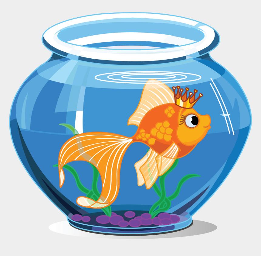 fishing clipart, Cartoons - Tropical Fish Pet Pencil - Fish Inside The Aquarium