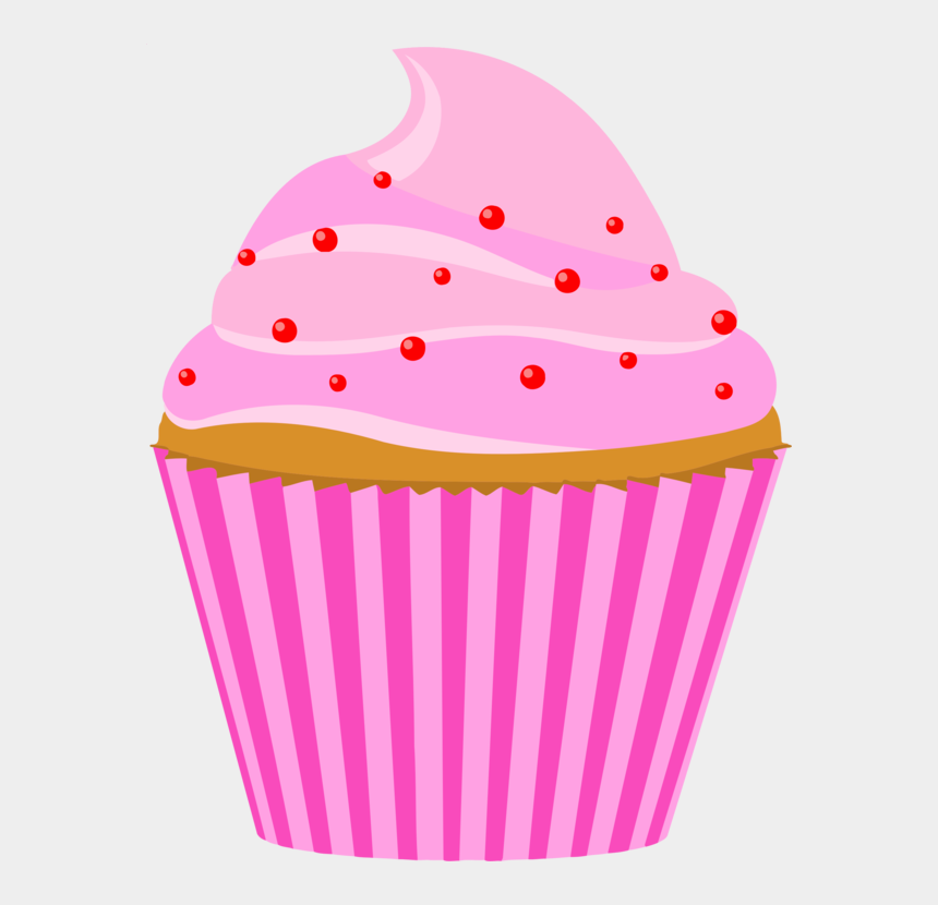 cupcakes clipart, Cartoons - May Clipart Cupcake - Clipart Cupcake Pink With Candle