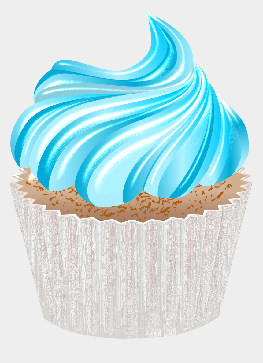 """Скрап Набор """"fwtagschocoholic"""" - Transparent Blue Cupcake ..."""