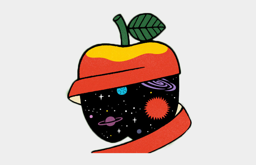 apples clipart, Cartoons - Cartoon Was Half Cut Apple 700*494 Transprent Svg - Cartoon