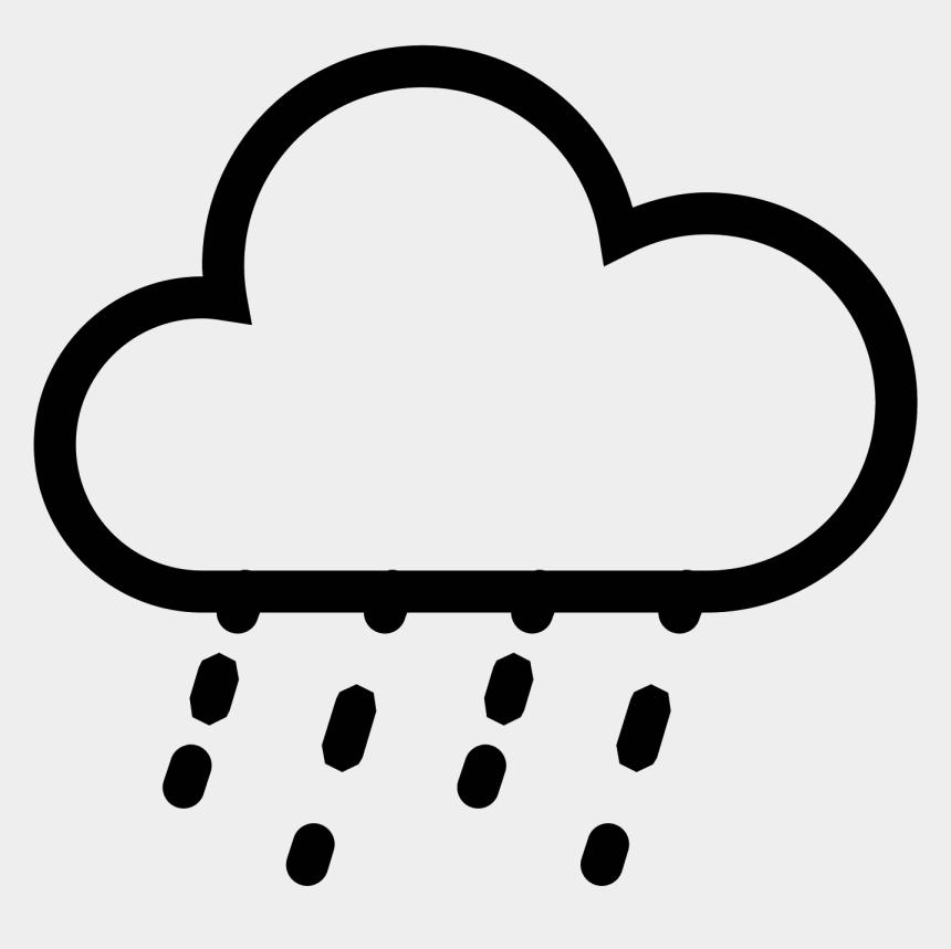 raining clipart, Cartoons - Heavy Rain Icon - Bad Weather Icon Png
