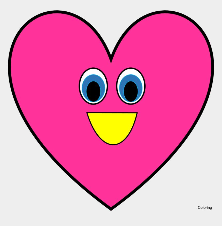 sidewalk clipart, Cartoons - Heart Cilpart Bright Inspiration - Heart Shape With Eyes Clipart