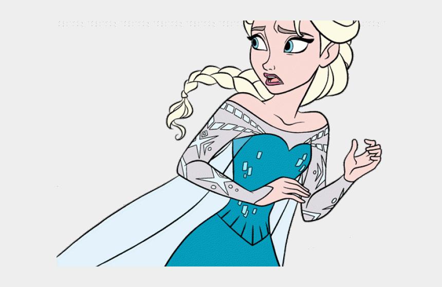 Frozen Clipart Elsa Anna Llorona En Dibujo Animado Para Colorear