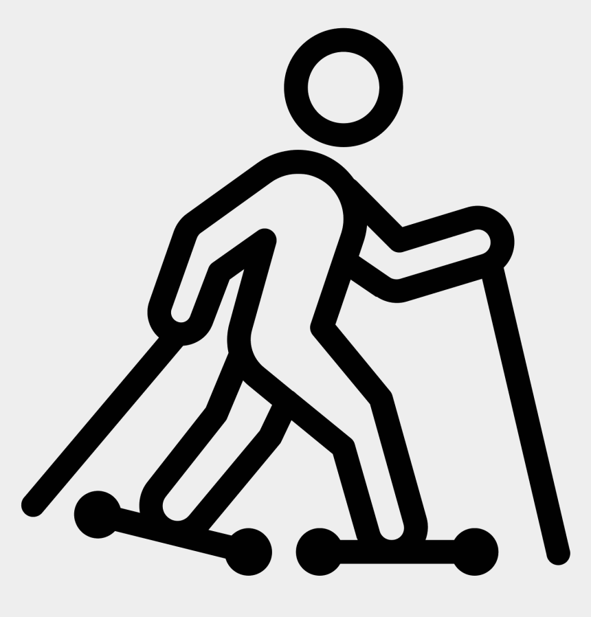 skiing clipart, Cartoons - Roller Skis Icon Free Download Png And Ⓒ - Human Walking Icon Png